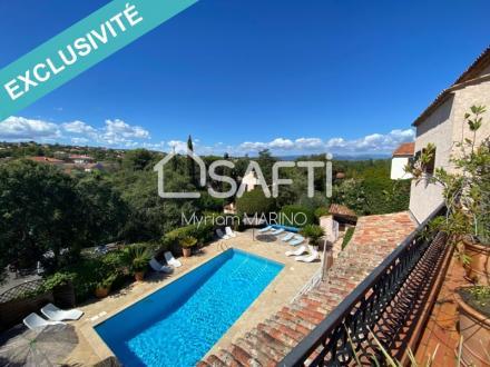Villa de luxe à vendre SAINT AYGULF, 300 m², 8 Chambres, 1094000€