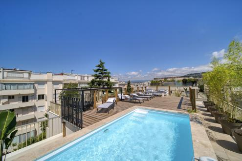Luxus-Wohnung zu verkaufen CANNES, 115 m², 3 Schlafzimmer, 1750000€