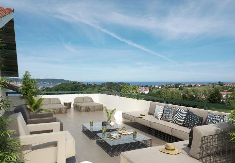 Luxus-Neubauwohnung zu verkaufen HENDAYE, 126 m², 659000€