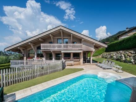 Luxury Chalet for rent MEGEVE, 280 m², 5 Bedrooms,