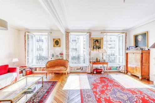 Квартира класса люкс на продажу  Париж 17ый, 76 м², 2 Спальни, 970000€