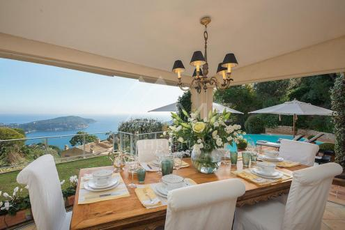 Luxury House for rent VILLEFRANCHE SUR MER, 270 m², 4 Bedrooms,