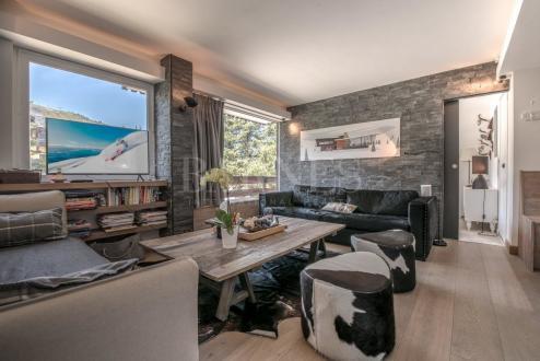 Appartement de luxe à louer COURCHEVEL, 90 m², 2 Chambres,
