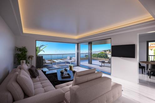 Appartement de luxe à vendre NICE, 104 m², 3 Chambres, 1990000€