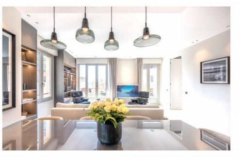Квартира класса люкс на продажу  Монако, 110 м², 3 Спальни, 6250000€