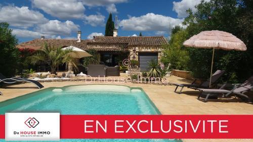 Maison de luxe à vendre AIGUES MORTES, 260 m², 4 Chambres, 980000€