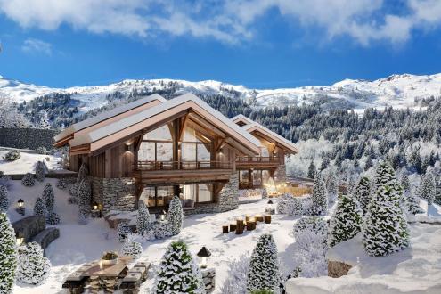 Luxus-Chalet zu verkaufen LES ALLUES, 337 m², 7 Schlafzimmer, 7112100€