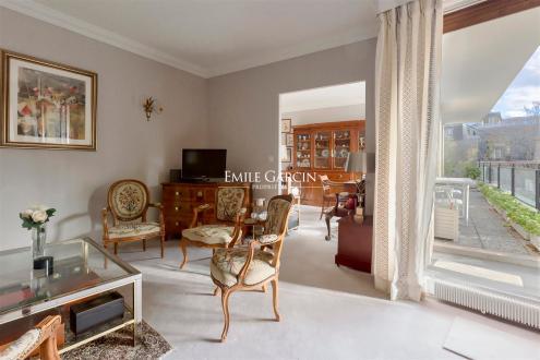 Luxus-Wohnung zu verkaufen PARIS 16E, 80 m², 2 Schlafzimmer, 1520000€