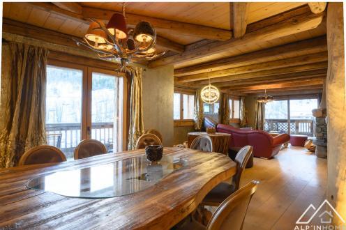 Luxus-Chalet zu verkaufen MERIBEL LES ALLUES, 336 m², 7 Schlafzimmer, 3885000€