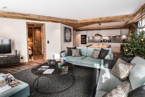 Appartement neuf de luxe à vendre COURCHEVEL, 136 m², 5 Chambres, 2994000€