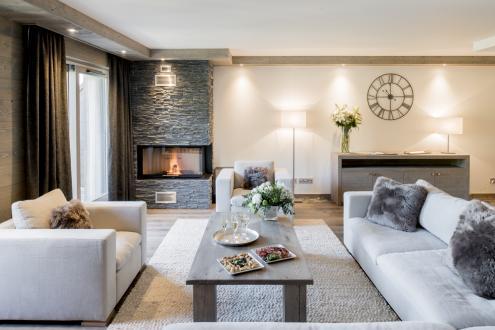 Новые апартаменты класса люкс на продажу  Куршевель, 139 м², 5 Спальни, 2185000€