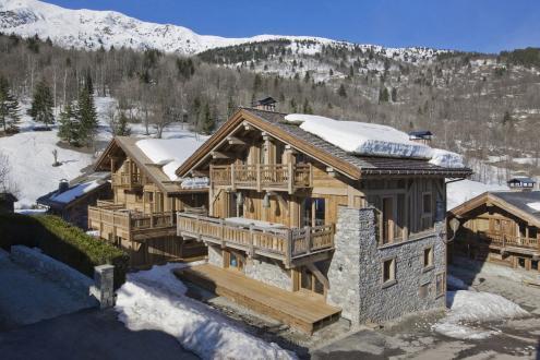 Chalet de luxe à louer MERIBEL LES ALLUES, 320 m², 6 Chambres,