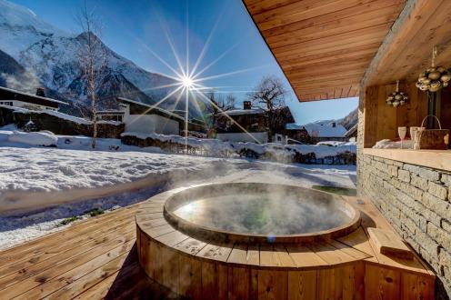 Luxury Chalet for rent CHAMONIX MONT BLANC, 165 m²,