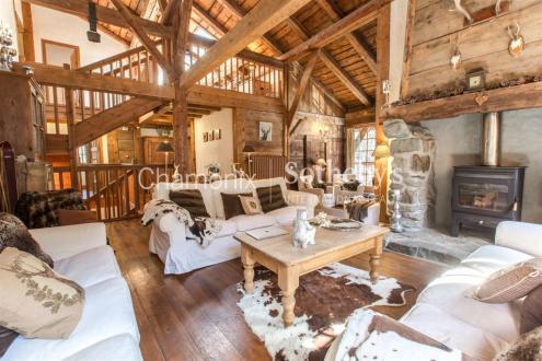 Chalet de luxe à vendre LES HOUCHES, 308 m², 8 Chambres, 1490000€