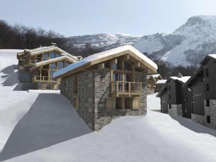 Luxus-Chalet zu verkaufen SAINT MARTIN DE BELLEVILLE, 90 m², 3 Schlafzimmer, 1450000€