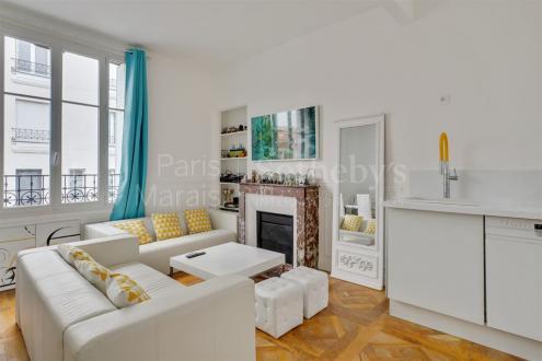 Дом класса люкс на продажу  Париж 13ый, 123 м², 3 Спальни, 1539000€