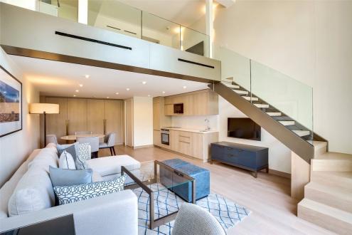 Luxe Appartement te huur Monaco, 53 m², 1 Slaapkamers,