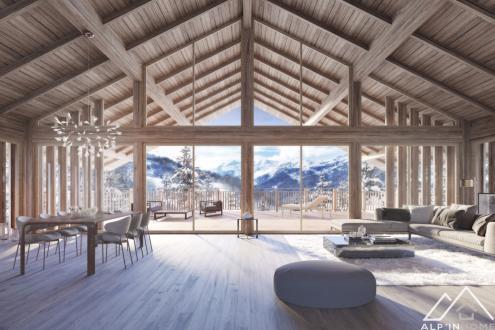 Luxus-Chalet zu verkaufen MERIBEL LES ALLUES, 331 m², 5 Schlafzimmer, 4900000€