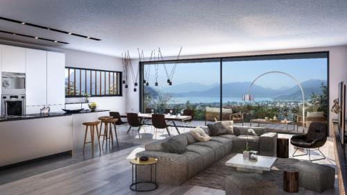 Дом класса люкс на продажу  Аннеси-Ле-Вьё, 203 м², 4 Спальни, 2155000€