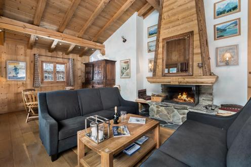 Chalet de luxe à louer CHAMONIX MONT BLANC, 1 m², 6 Chambres,