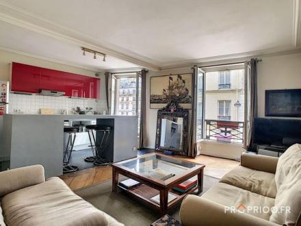 Appartement de luxe à vendre PARIS 9E, 63 m², 1 Chambres, 918000€