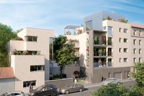 Luxus-Neubauwohnung zu verkaufen LYON, 84 m², 3 Schlafzimmer, 1045000€