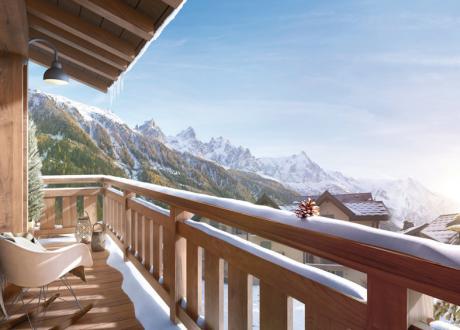 Appartement de luxe à vendre CHAMONIX MONT BLANC, 102 m², 3 Chambres, 990000€