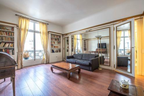 Квартира класса люкс на продажу  Париж 8ой, 60 м², 1 Спальни, 1545000€