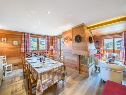 Luxus-Wohnung zu vermieten MEGEVE, 110 m², 4 Schlafzimmer,