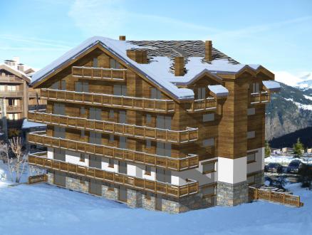 Appartement neuf de luxe à vendre COURCHEVEL, 134 m², 4 Chambres