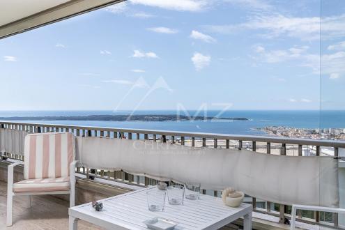 Luxus-Wohnung zu verkaufen CANNES, 157 m², 3 Schlafzimmer, 1690000€