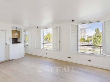 Luxus-Wohnung zu vermieten PARIS 4E, 50 m², 1 Schlafzimmer, 2800€/monat