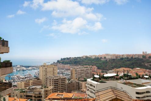 Квартира класса люкс на продажу  Монако, 116 м², 2 Спальни, 6600000€