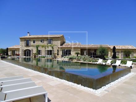 Luxury House for rent SAINT REMY DE PROVENCE, 460 m², 5 Bedrooms,