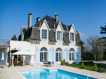 Château / Manoir de luxe à vendre AUTEVIELLE SAINT MARTIN BIDEREN, 520 m², 8 Chambres, 757000€