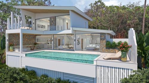Вилла класса люкс на продажу  Тайланд, 350 м², 3 Спальни, 14500000€