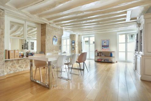 Luxus-Wohnung zu verkaufen PARIS 3E, 140 m², 3 Schlafzimmer, 2000000€