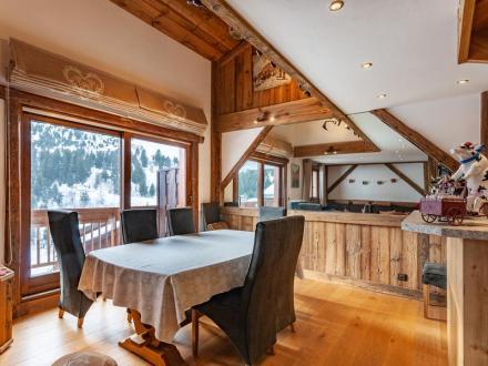 Luxus-Wohnung zu verkaufen MERIBEL LES ALLUES, 108 m², 5 Schlafzimmer, 1450000€