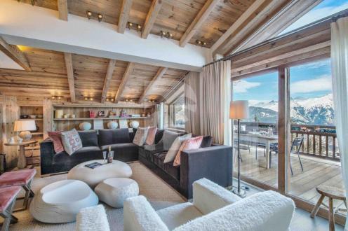 Шале класса люкс в аренду Куршевель, 850 м², 6 Спальни,