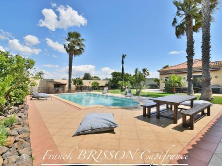 Villa de luxe à vendre AGDE, 190 m², 5 Chambres, 830000€