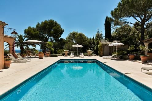Luxury House for rent RAMATUELLE,