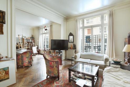 Luxus-Wohnung zu verkaufen PARIS 16E, 115 m², 3 Schlafzimmer, 1250000€