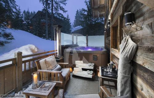 Luxus-Chalet zu vermieten COURCHEVEL, 700 m², 7 Schlafzimmer,