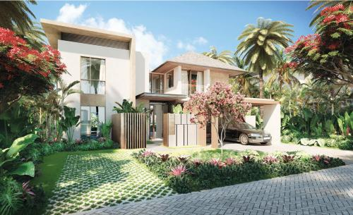 Villa de luxe à vendre Ile Maurice, 309 m², 3 Chambres, 1159859€