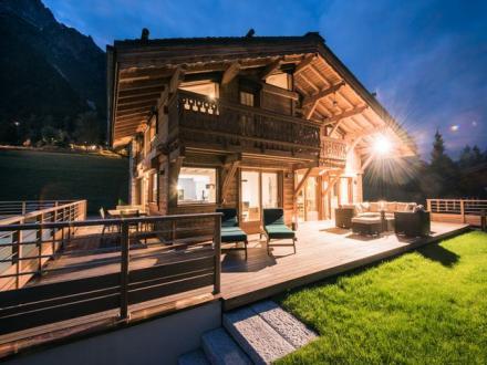 Luxus-Chalet zu vermieten CHAMONIX MONT BLANC, 200 m², 5 Schlafzimmer,