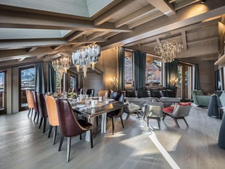 Casale di lusso in affito COURCHEVEL, 938 m², 5 Camere,