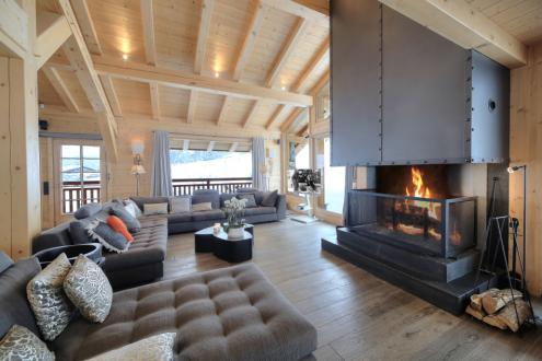 Chalet de luxe à louer MEGEVE, 300 m², 5 Chambres,