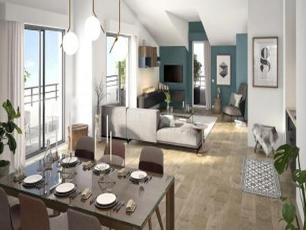 Luxus-Wohnung zu verkaufen PREVESSIN MOENS, 88 m², 3 Schlafzimmer, 517000€