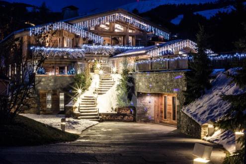 Chalet de luxe à louer MEGEVE, 890 m², 6 Chambres,