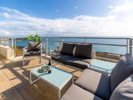 Luxus-Wohnung zu verkaufen BEAUSOLEIL, 103 m², 3 Schlafzimmer, 991000€